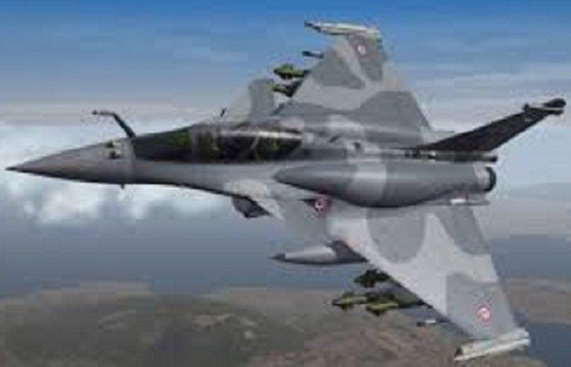 Rafel Fighter Plane